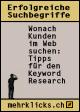 Broschüre 'Erfolgreiche Suchbegriffe: Wonach Kunden im Web suchen'