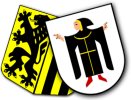 Städtewappen München und Dresden