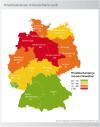 Privatinsolvenzen 2008 nach Bundesländern