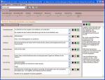 Screenshot der Software 'Zukunftscheck Mittelstand'