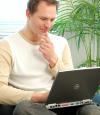 Bewerbung am Computer