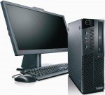 Lenovo ThinkCentre M90 mit Monitor