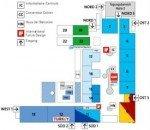 Hallenplan der CeBIT 2011