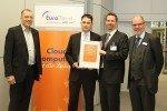 EuroCloud SaaS-Zertifikatserlehung an Optivo