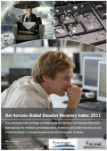Acronis Global Disaster Recovery Index 2011