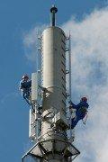 4G-Techniker bauen jetzt das LTE-Netz jetzt in vier weiteren Städten aus
