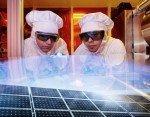 Antireflektive Plastikfolien für Solarzellen