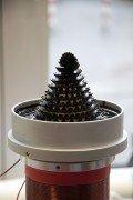 Ferrofluid-Brunnen auf der Hannover Messe