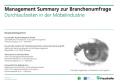 Management Summary: Durchlaufzeiten in der Moebelindustrie