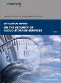 Fraunhofer SIT: On the Security of Cloud Storage Services