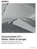 Consumerization of IT – Risiken, Fakten & Lösungen