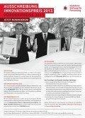 Ausschreibung des Vodafone-Innovationspreises 2013