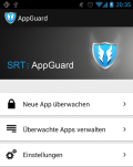 AppGuard-Screenshot, © Backes SRT GmbH