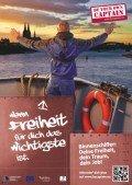 Kampagnenplakat: Be your own Captain!, © Bundesverband der Deutschen Binnenschiffahrt e.V.