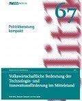 Politikberatung kompakt 67: Volkswirtschaftliche Bedeutung der Technologie- und Innovationsförderung im Mittelstand, © DIW