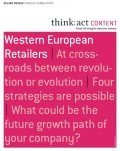 Western European Retailers (think:act CONTENT), © Roland Berger
