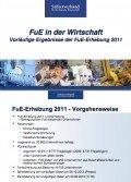 FuE in der Wirtschaft – Vorläufige Ergebnisse der FuE-Erhebung 2011, © Stifterverband für die deutsche Wissenschaft