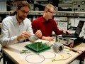 Motoren für Elektrofahrzeuge im Siebdruckverfahren, © TU Chemnitz