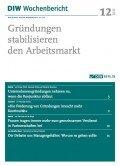 DIW Wochenbericht 12/2013, ©Deutsches Institut für Wirtschaftsforschung