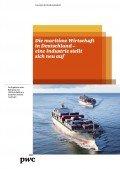 Die maritime Wirtschaft in Deutschland – eine Industrie stellt sich neu auf, © PwC