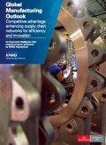 Global Manufacturing Outlook 2013, © KPMG