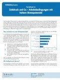 Factsheet Zeitdruck und Co – Arbeitsbedingungen mit hohem Stresspotenzial, © BAuA