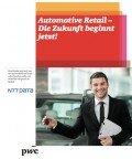 Automotive retail 2013 – die Zukunft beginnt jetzt!, © pwc