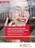 Impact of Mobile Technologies on Enterprises – Strategies, Success Factors, Recommendations, © Vodafone