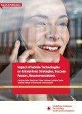Impact of Mobile Technologies on Enterprises – Strategies, Success Factors, Recommendations, © Vodafone