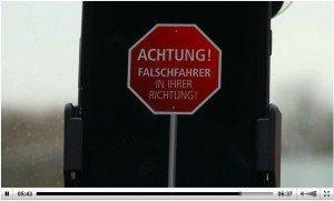 Falschfahrer-App, © Technische Universität Clausthal