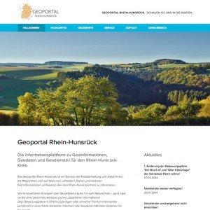 Geoportal Rhein-Hunsrück, © Kreisverwaltung Rhein-Hunsrück-Kreis