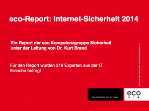Internet-Sicherheit 2014, © eco