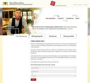 Bildungsnavigator Baden-Württemberg, ©www.bildungsnavi-bw.de