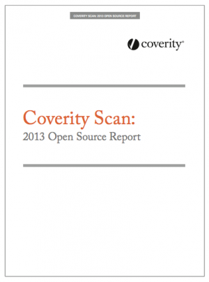 2013 Open Source Scan Report, © Coverity