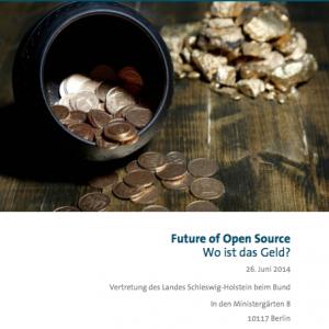 Konferenzprogramm: Future of Open Source – Wo ist das Geld?, © BITKOM 2014