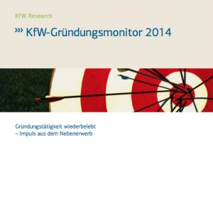 KfW-Gründungsmonitor 2014, © KfW