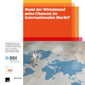 BDI/PwC-Mittelstandspanel Frühjahr 2014, © BDI/PwC/IfM Bonn