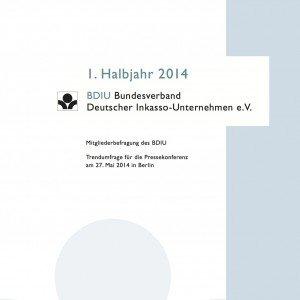Mitgliederbefragung des BDIU, BDIU Bundesverband Deutscher Inkasso-Unternehmen e.V.