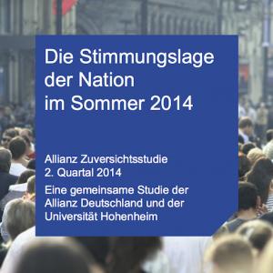 Zuversichtsstudie Q2/2014, © Allianz
