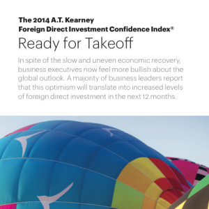 Foreign Direct Investment Confidence Index 2014, © A.T. Kearney