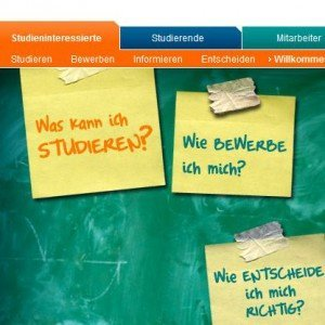 TU Ilmenau präsentiert ein neues Online-Portal, Screenshot © TU Ilmenau