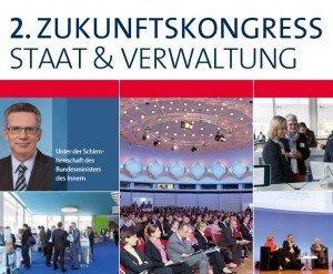 2. Zukunftskongress Staat & Verwaltung (Programm), © Wegweiser Media & Conferences GmbH Berlin