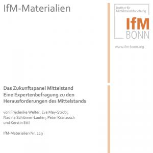 Das Zukunftspanel Mittelstand. Eine Expertenbefragung zu den Herausforderungen des Mittelstands (© IfM Bonn 2014)