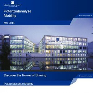 Potenzialanalyse Mobility (Screenshot Cover, © Steria.com)