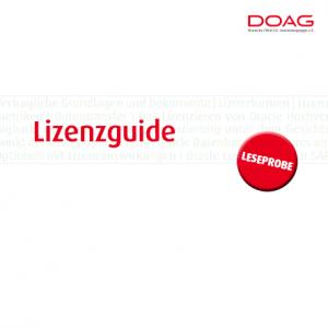 Oracle-Lizenzguide (kostenfreie Leseprobe), © DOAG