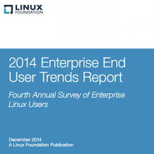 2014 Enterprise End User Trends Report, © Linux Foundation