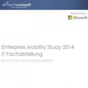 Enterprise Mobility Study 2014, ©techconsult