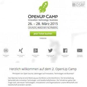 OpenUp Camp 2015, ©OSBF