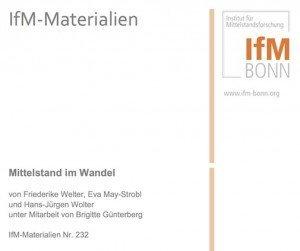 Mittelstand im Wandel, ©IfM Bonn