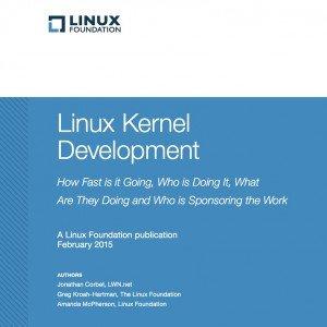 Linux Kernel Development, ©Linux Foundation